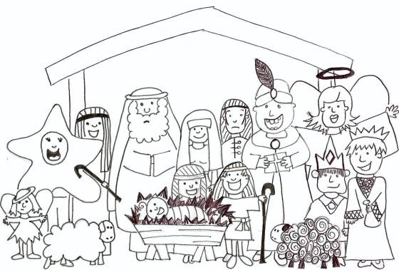 Mega Nativity #1