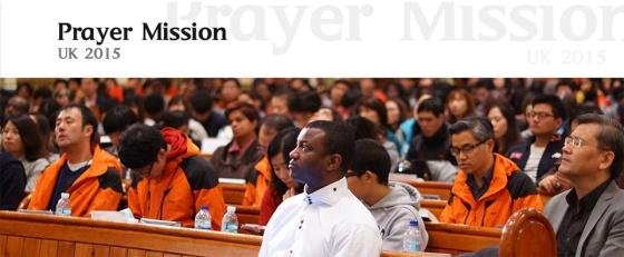 Korean Prayer Mission 2015